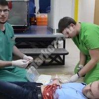 Ножевое ранение грудной клетки первая помощь