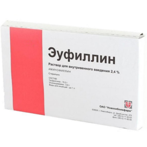 Эуфиллин: инструкция по применению (в таблетках, ампулах)